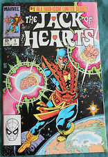The Jack of Heart 1 2 3 4 issue limited series