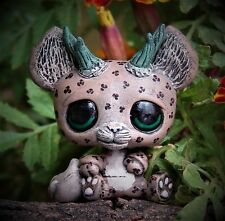 Littlest Pet Shop jaguar Dragon Forest Spirit OOAK custom figure LPS chibi