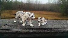 WHITE TIGER AND CUB by Schleich/toy/14731/14732/NEW 2015/WILDLIFE