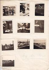 Kriegsmarine: Aus Nachlass Fotos aus / Frankreich/ France