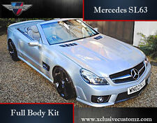 Mercedes SL63 AMG Full Body Kit for Mercedes SL R320 Non Wide