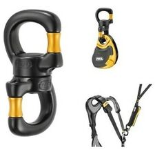 Petzl P58 SO Ball Bearing Open Swivel Ropes Hauling Progression Pulleys Lanyards