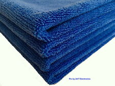 "4(Four) High Quality MICROFIBER CLEANING WASH CLOTH TOWEL 16""x16"" 40x40cm 300GSM"