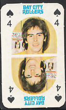 Monty Gum 1970's Gum Card - The Bay City Rollers Music Card - Four of Spades