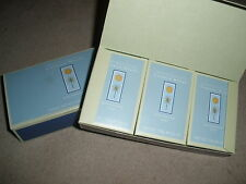 Crabtree & Evelyn Cayman Winds Triple-Milled Soap Box set of 3 NIB Discontinued