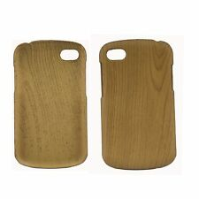 ULTRA THIN TPU WOODEN OAK EFFECT MATTE HARD CASE FOR NEW BLACKBERRY Q10