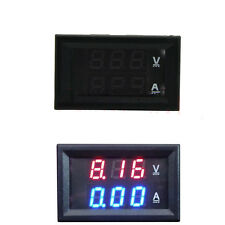 Dual Digital Voltmeter DC 100V 50A Ammeter Red LED Amp Volt Meter Current Shunt