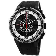 Perrelet Turbine Chrono Men's Black PVD Automatic Watch