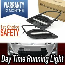 LED DRL TOYOTA FT86 GT86 SUBARU BRZ SCION FRS 12'-ON DAYTIME RUNNING LIGHT 7000K