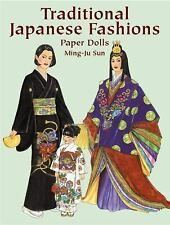 Traditional Japanese Fashions Paper Dolls (Dover Paper Dolls), Ming-Ju Sun, 0486