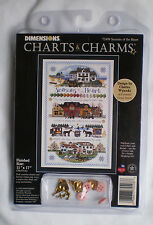 "Dimensions Charts & Charms / Wysocki ""Seasons Of The Heart"" Counted Cross Stitch"