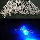 50 5mm 2 Pins Round Blue LED Light Bulb Emitting Diode Lamp