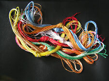 10 bundles of 5 mtrs Variegated Embroidery or Cross Stitch Cotton Thread/Floss