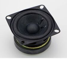 2 Inch Square Speaker good for Cigar Box Guitar Amplifier - Amp 4 Ohm New