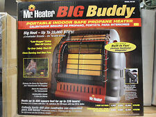 New Mr. Heater MH18B Big Buddy Portable Propane Heater Indoor Outdoor Space Free