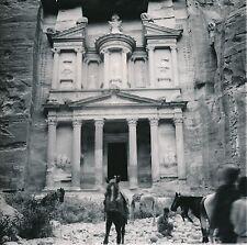 JORDANIE c. 1960  - Le Trésor  Al-Khazneh Pétra - DIV8465