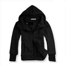 Men's Fit Hooded Sweater Hoodies Winter Warm Jacket Coat Jumper Tops Outfits New