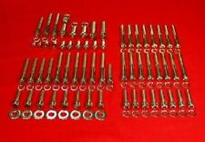 1991-2003 HARLEY SPORTSTER POLISHED STAINLESS STEEL ENGINE/ GEARCASE BOLT SET