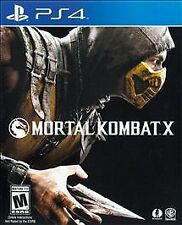 Mortal Kombat X USED SEALED (Sony PlayStation 4, 2015)