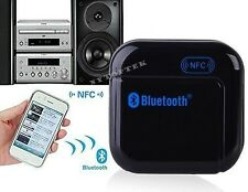 NFC Wireless Bluetooth Stereo Audio Music Receiver Adapter 3.5mm USB For Speaker