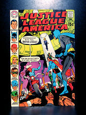 COMICS: Justice League of America #78 (1969), 1st satellite HQ/SA Vigilante app