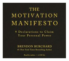 NEW 6 CD The Motivation Manifesto by Brendon Burchard