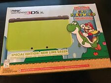 [ACT NOW] *NIB* New Nintendo 3DS XL Special Edition Lime Green - Free Shipping