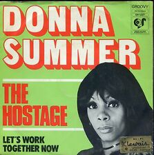 7inch DONNA SUMMER the hostage HOLLAND EX +PS SOC 1974