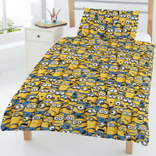 Despicable Me Sea Of Minions Junior Cot Bed Duvet Cover Bedding Nursery New Gift