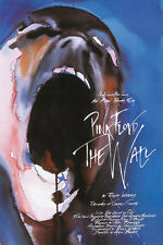 PINK FLOYD THE WALL Poster - GERALD SCARFE ICONIC 1982 MOVIE POSTER LP2014