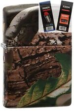 Zippo 28263 realtree apg camoflage Lighter with *FLINT & WICK GIFT SET*