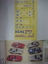 FERRARI 250 GTSWB TOUR DE FRANCE 1961 1/43 DECAL