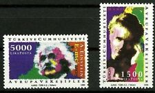 Turkey MNH 2v, Europa, Discoveries, Science, Medical, Nobel, Curie, Einstein -N4