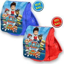 Personalised PAW PATROL school bag kids children backpack rucksack nursery Ryder