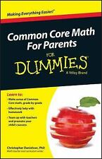 Common Core Math for Parents for Dummies with Videos Online by Consumer...