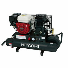Hitachi 5.5-HP 8-Gallon Gas Wheelbarrow Air Compressor w/ Honda Engine