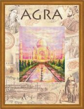 """RIOLIS Counted Cross Stitch Kit """"Cities of the World. Agra"""" 0020 PT"""