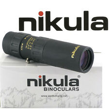 Nikula 10 - 30 x 25 High Power Pockedt-Size Monocular Telescopes