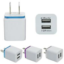 Home Travel Dual Port AC USB Wall Charger