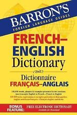Barron's French-English Dictionary: Dictionnaire Francais-Anglais (Barron's For