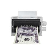 Magic Money Printer Trick Lottery Ticket Note Bill Maker Roller Printing Machine