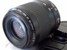 Canon 80-200mm f4.5-5.6 II EF EOS Lens - parts or repair heavy haze inside AS IS