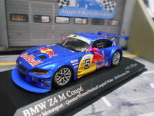 BMW z4 M Coupe Red Bull 24h Silverstone Werner Quester 2006 Minichamps 1:43