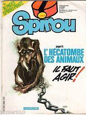 ¤ SPIROU n°2252 ¤ 11/06/1981 ¤ AVEC SPIROU PIRATE 31 ATTACHE