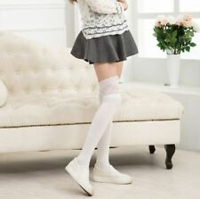 New Fashion Womens Knitting Lace High Socks Over Knee Thigh High Stockings