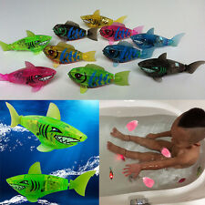 New Baby Bath Toys Kids  Robot Shark Activated Battery PoweredFish Cute Toy Gift