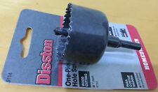 "Disston 1-3/4"" (44mm) Hole Saw Hole Cutter for Wood & Plastic"