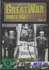 DVD + Geschichte 1. Weltkrieg + World War 1 + Amerika erwacht + Spannende Doku +