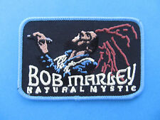 Bob Marley Reggae Music Smoke Jacket Hoodie Vest Patch Crest Natural Mystic