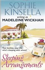 Sleeping Arrangements by Sophie Kinsella writing as Madeline Wickham - New Book